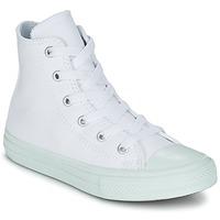 Παπούτσια Κορίτσι Ψηλά Sneakers Converse CHUCK TAYLOR ALL STAR II PASTEL SEASONAL TD HI άσπρο / μπλέ / ΣΙΕΛ