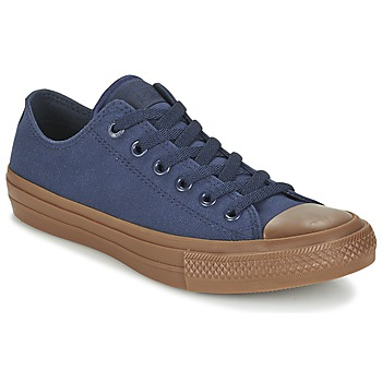 Παπούτσια Άνδρας Χαμηλά Sneakers Converse CHUCK TAYLOR ALL STAR II TENCEL CANVAS OX MARINE / Brown