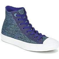Παπούτσια Άνδρας Ψηλά Sneakers Converse CHUCK TAYLOR ALL STAR II OPEN KNIT HI Μπλέ