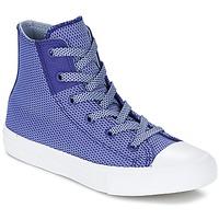 Παπούτσια Παιδί Ψηλά Sneakers Converse CHUCK TAYLOR ALL STAR II BASKETWEAVE FUSE TD HI INDIGO / μπλέ / άσπρο
