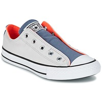 Παπούτσια Παιδί Χαμηλά Sneakers Converse CHUCK TAYLOR ALL STAR SLIP SUMMER FUNDAMENTALS SLIP Grey / Μπλέ / Orange