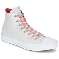 Παπούτσια Ψηλά Sneakers Converse CHUCK TAYLOR ALL STAR II BASKETWEAVE FUSE HI Ecru / Άσπρο / Red