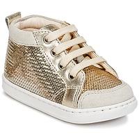Παπούτσια Κορίτσι Ψηλά Sneakers Shoo Pom BOUBA NEW COVER Gold