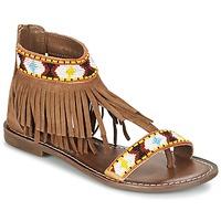 Παπούτσια Γυναίκα Σανδάλια / Πέδιλα Metamorf'Ose ZACCIN Brown