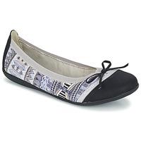 Παπούτσια Γυναίκα Μπαλαρίνες Les P'tites Bombes CAPRICE Grey / Black