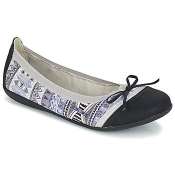 Παπούτσια Γυναίκα Μπαλαρίνες LPB Woman CAPRICE Grey / Black