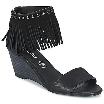 Παπούτσια Γυναίκα Σανδάλια / Πέδιλα Les P'tites Bombes NADIA Black
