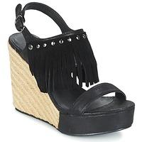 Παπούτσια Γυναίκα Σανδάλια / Πέδιλα Les P'tites Bombes SABINE Black