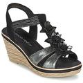 Παπούτσια Γυναίκα Σανδάλια / Πέδιλα Marco Tozzi CHAVELA Black