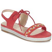 Παπούτσια Γυναίκα Σανδάλια / Πέδιλα Moony Mood GLOBUNE Ροζ