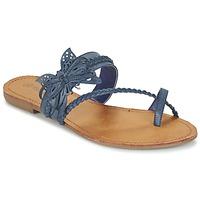 Παπούτσια Γυναίκα Σαγιονάρες Moony Mood ELIANA μπλέ