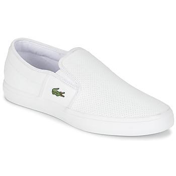 Παπούτσια Άνδρας Slip on Lacoste GAZON BL 1 άσπρο