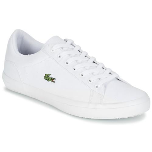 Παπούτσια Άνδρας Χαμηλά Sneakers Lacoste LEROND BL 2 Άσπρο