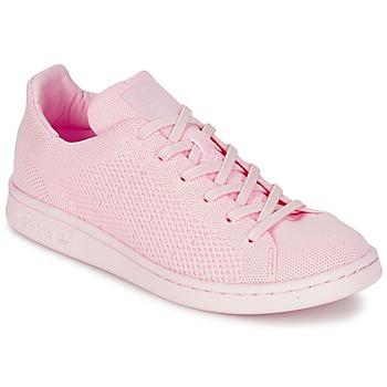 Παπούτσια Γυναίκα Χαμηλά Sneakers adidas Originals STAN SMITH PK ροζ