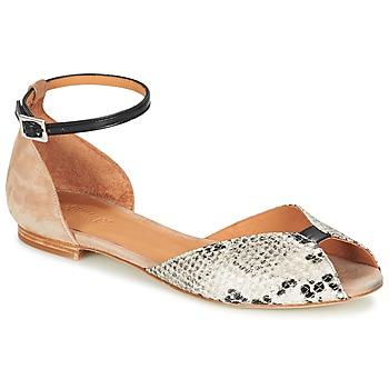 Παπούτσια Γυναίκα Σανδάλια / Πέδιλα Emma Go JULIETTE Beige / Black