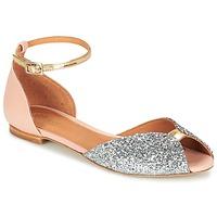 Παπούτσια Γυναίκα Σανδάλια / Πέδιλα Emma Go JULIETTE Ροζ / Silver / Gold