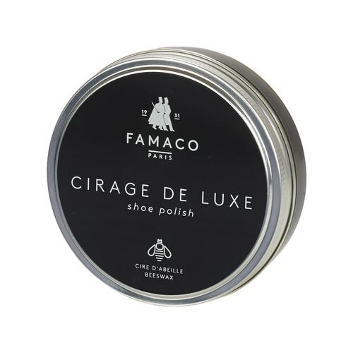 Αξεσουάρ Αποτρίχωση Famaco Boite de cirage de luxe marron foncé 100 ml Brown / Fonce