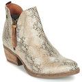 Παπούτσια Γυναίκα Μπότες Coqueterra LIZZY Beige / Serpent