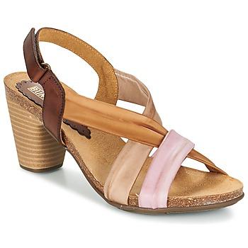 Παπούτσια Γυναίκα Σανδάλια / Πέδιλα Bunker LIZ Brown / ροζ