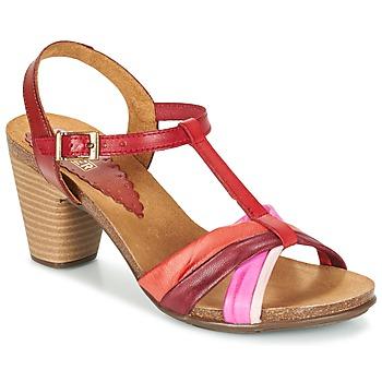 Παπούτσια Γυναίκα Σανδάλια / Πέδιλα Bunker LIZ Red / ροζ