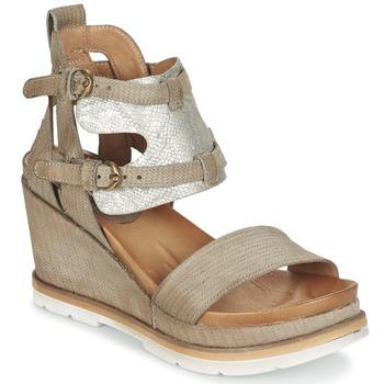 Παπούτσια Γυναίκα Σανδάλια / Πέδιλα Mjus APRIL TAUPE / Argenté