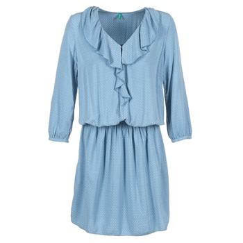 Υφασμάτινα Γυναίκα Κοντά Φορέματα Benetton AFIDOUL μπλέ