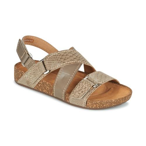 Παπούτσια Γυναίκα Σανδάλια / Πέδιλα Clarks ROSILLA ESSEX Brown