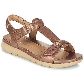 Παπούτσια Γυναίκα Σανδάλια / Πέδιλα Clarks UN HAYWOOD BRONZE