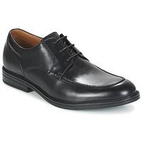 Παπούτσια Άνδρας Derby Clarks BECKFIELDAPRON Black