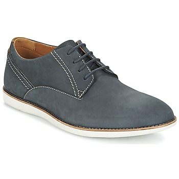 Παπούτσια Άνδρας Derby Clarks FRANSON PLAIN μπλέ