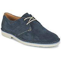 Παπούτσια Άνδρας Derby Clarks JARETH WALK μπλέ