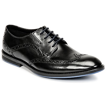 Παπούτσια Άνδρας Derby Clarks PRANGLEY LIMIT Black