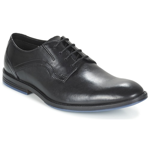 Παπούτσια Άνδρας Derby Clarks PRANGLEY WALK Black