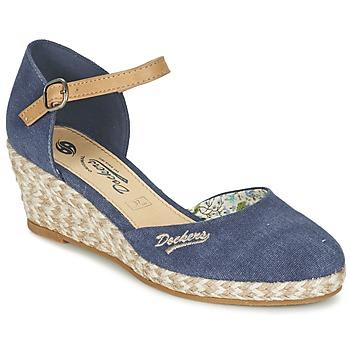 Παπούτσια Γυναίκα Σανδάλια / Πέδιλα Dockers by Gerli AFINOUDE μπλέ