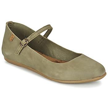 Παπούτσια Γυναίκα Μπαλαρίνες El Naturalista STELLA Grey / Kaki