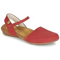 Παπούτσια Γυναίκα Σανδάλια / Πέδιλα El Naturalista WAKATAUA Red