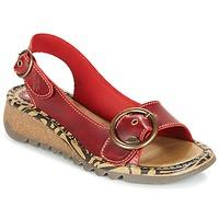 Παπούτσια Γυναίκα Σανδάλια / Πέδιλα Fly London TRAMFLY Red