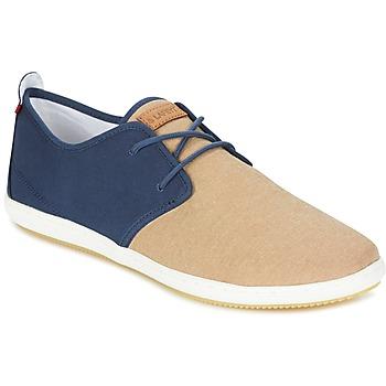 Παπούτσια Άνδρας Χαμηλά Sneakers Lafeyt MARTE SUMMER CHAMBRAY MARINE / Beige