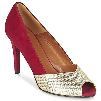 Παπούτσια Γυναίκα Γόβες Heyraud ELOISE Red / Gold
