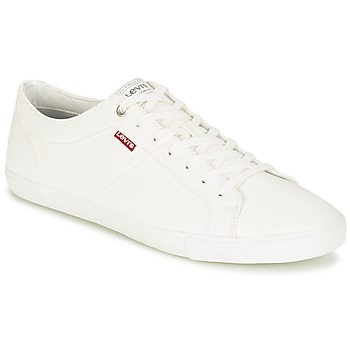 Παπούτσια Άνδρας Χαμηλά Sneakers Levi's WOODS άσπρο