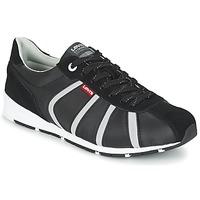 Παπούτσια Άνδρας Χαμηλά Sneakers Levi's ALMAYER II Black / άσπρο