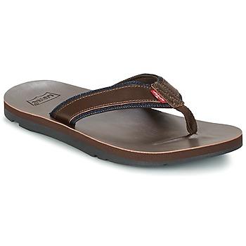 Παπούτσια Άνδρας Σαγιονάρες Levi's JURUPA Brown