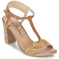 Παπούτσια Γυναίκα Σανδάλια / Πέδιλα Lola Espeleta GIULIA Cognac