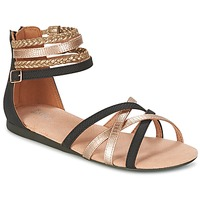 Παπούτσια Κορίτσι Σανδάλια / Πέδιλα Bullboxer REVILZOA Black / Gold