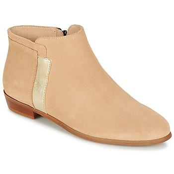 Παπούτσια Γυναίκα Μπότες M. Moustache EMMANUELLE Beige / Gold