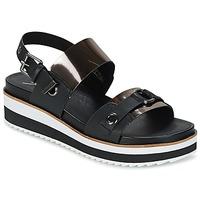 Παπούτσια Γυναίκα Σανδάλια / Πέδιλα Coolway DOLPHIN Black