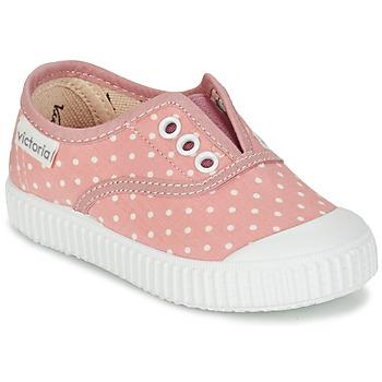 Xαμηλά Sneakers Victoria INGLESA LUNARES ELASTICO