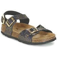 Παπούτσια Κορίτσι Σανδάλια / Πέδιλα Betula Original Betula Fussbett JEAN Black / Gold
