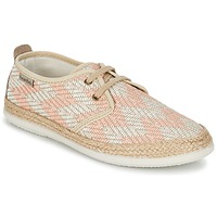 Παπούτσια Γυναίκα Χαμηλά Sneakers Victoria BLUCHER TEJIDO ZIG-ZAG Saumon
