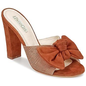 Παπούτσια Γυναίκα Τσόκαρα Paco Gil BRAZIL Brown